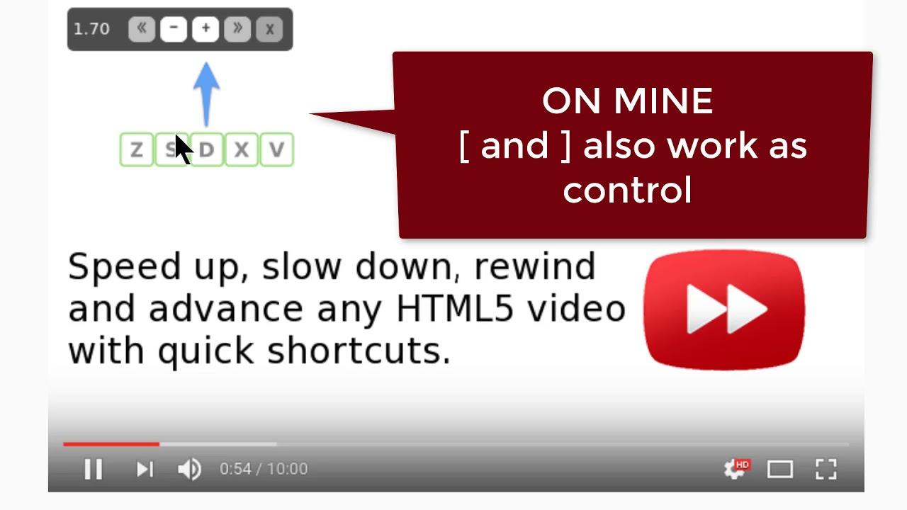 chrome plugin video speed