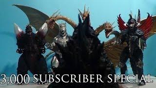 Godzilla (2014) vs. King Ghidorah, Spacegodzilla, Gigan & Mechagodzilla