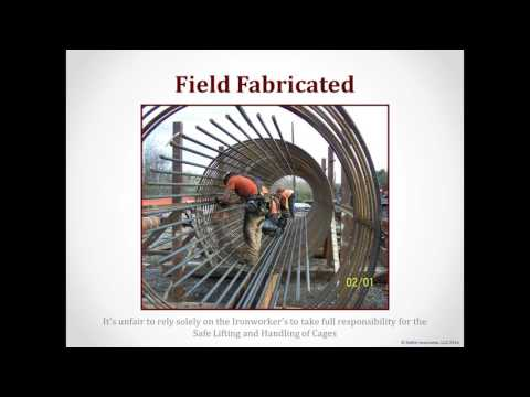 Safe Lifting and Handling of Rebar Cages  - Deep Foundations (Showcase Webinar Series)
