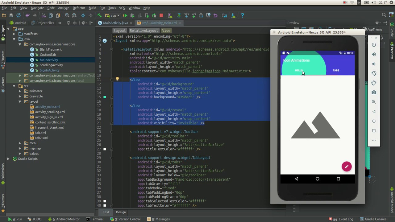 android circular reveal basics in just 7 minutes make your app material
