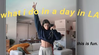 a day in my life in la!!! *this is fun*