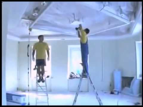 Как выбрать натяжной потолок.