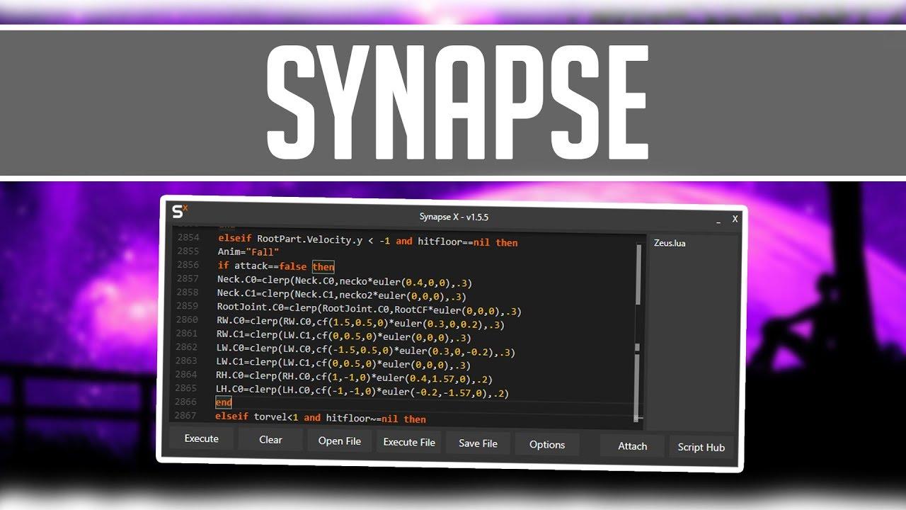 SYNAPSE X! | OP ROBLOX HACK/EXPLOIT! | INSANE SCRIPT EXECUTOR!!!