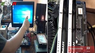 Motherboard Foxconn Q77m Chipset Q77 Lanix LX-4220 Hdmi SATA 6Gb/s USB 3.0 Micro ATX Socket 1155