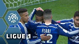 EA Guingamp - Olympique Lyonnais (1-3)  - Résumé - (EAG - OL) / 2014-15