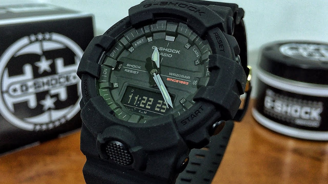 96bc6de65df Casio G-Shock 35th Anniversary GA-835A-1AJR Big Bang Black watch unboxing    review