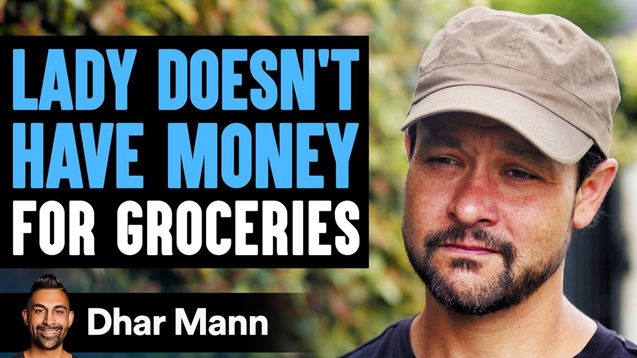 Lady Can't Afford Groceries, A Stranger Changes Her Life Forever | Dhar Mann