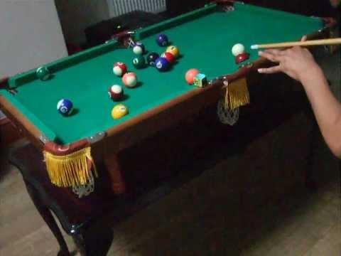 Small Pool Table mini pool table game - youtube