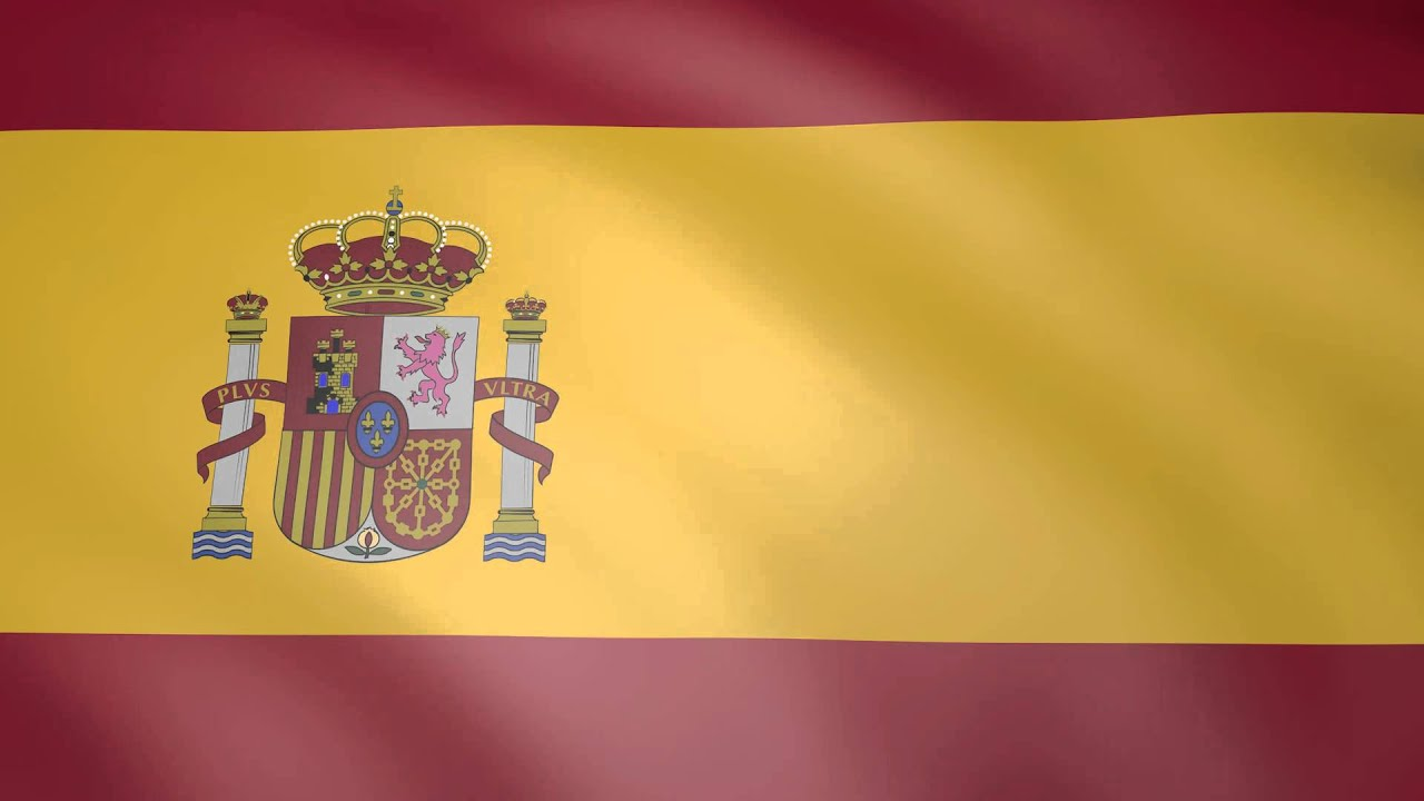 Animated flag of spain youtube for Watches of spain