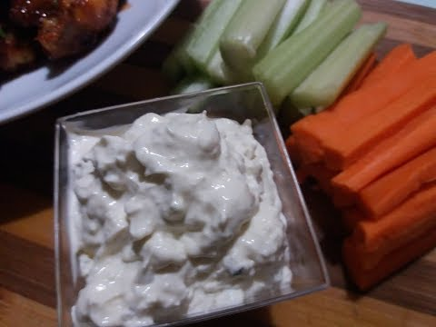 CLEARLY CANADIAN ~ HOMEMADE BLUE CHEESE DIP *PUB GRUB*