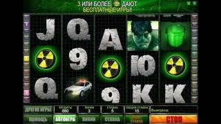 Игровой автомат Incredible Hulk - обзор аппарата Невероятный Халк от производителя Playtech