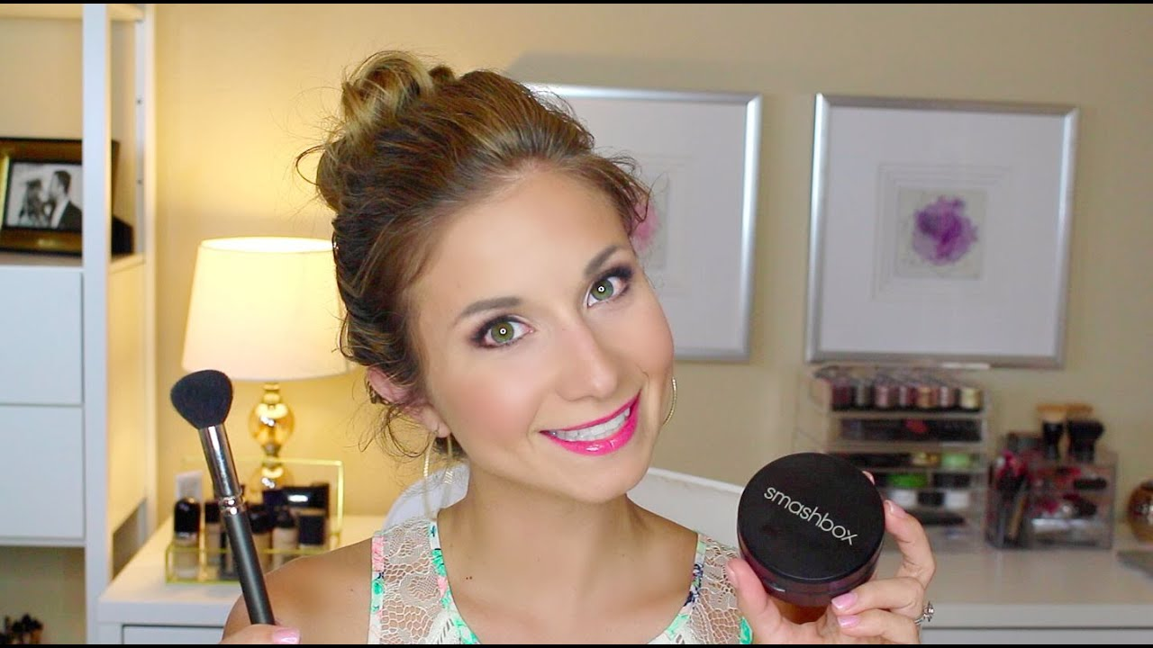 smashbox puder test