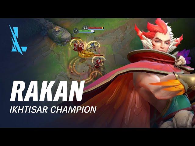 Ikhtisar Champion Rakan | Pola Permainan - League of Legends: Wild Rift