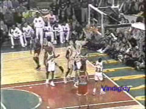 Rodman vs Seattle 1996 NBA Finals