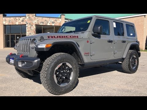 Jeep Jlu Rubicon Sting Grey