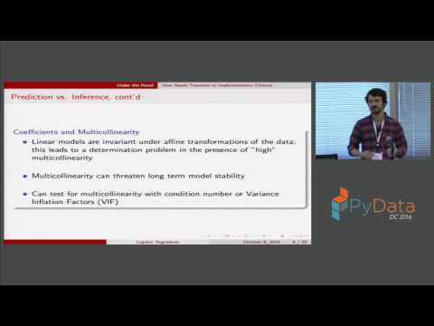 Christopher White | Logistic Regression Behind the Scenes