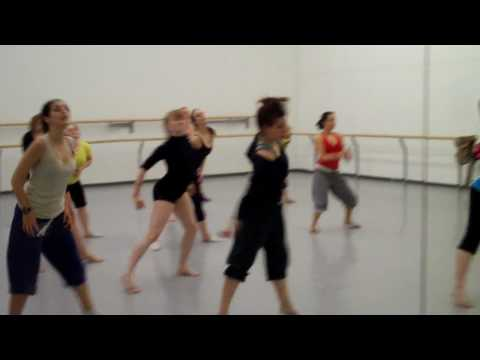 Commercial Jazz Class - Fast lyrical