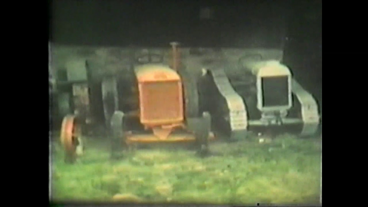 B. V. Home Movies - Old Tractors
