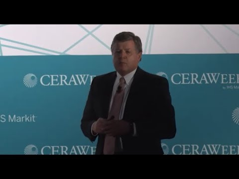 Tony Barrett Talks Super Basins At CERAWeek 2018