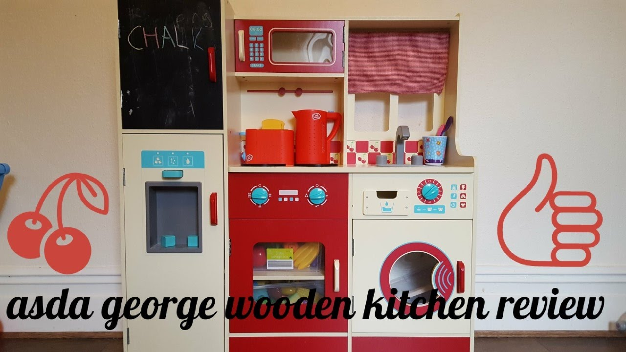 Asda George Wooden Kitchen Review My Personal Opinion Youtube