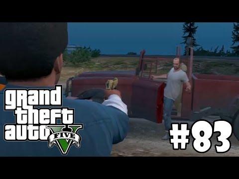 GTA V | #83 | حرامي السيارات 5 | النهايه الاولى قتل تريفور