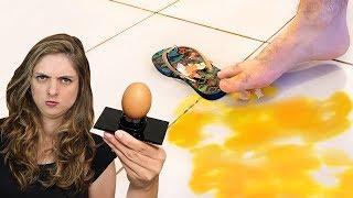 PEGADINHA Ovingador - o ovo do mal! com Mari Fulfaro 🔵Manual do Mundo