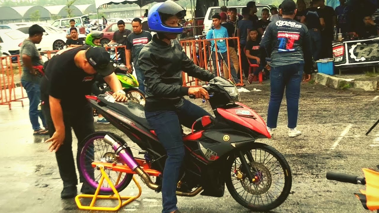 PART 3/3 YAMAHA Y15zr LC 135 Drag Bike Ogos Drag Racing Kubang Menerong 2019