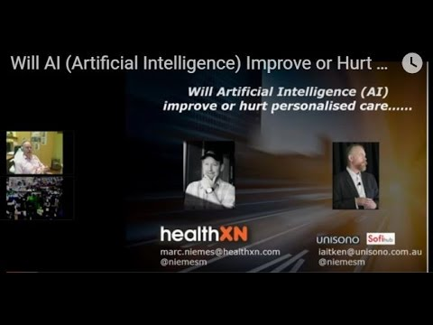 Will AI (Artificial Intelligence) Improve or Hurt Personalised Aged Care HealthXN interview Unisono