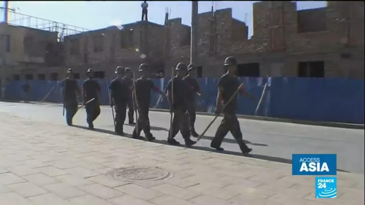 فرانس 24:Mass detention in China: Uighurs and Kazakhs held in re-education camps