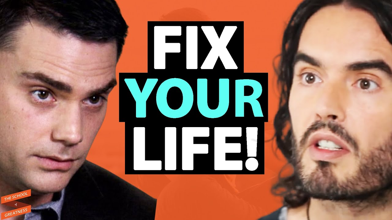 Ben Shapiro & Russell Brand REVEAL How To FIX YOUR LIFE! | Lewis Howes