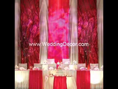 Simple Wedding Backdrop Decor Ideas Youtube