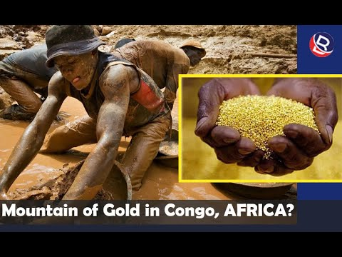 Mountain Of Gold In Congo : Villagers Discover Mountain Full Of Gold ( Video )