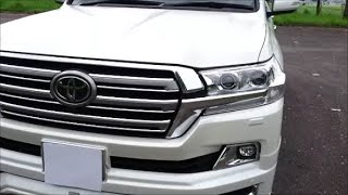 Тойота Land Cruiser 200 2016 модельного года
