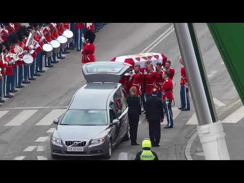 Leaving Prince Henrik's Funeral