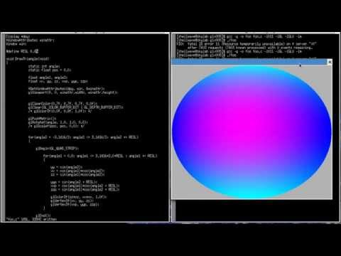 3D Graphics and Animation Programming Tutorial in C/Linux #05 - Creating a Sphere