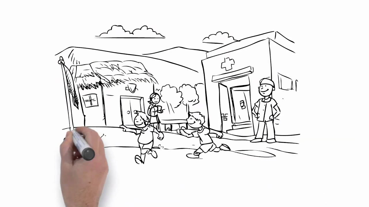 Cafe / White board animation / Animatica Studio - YouTube