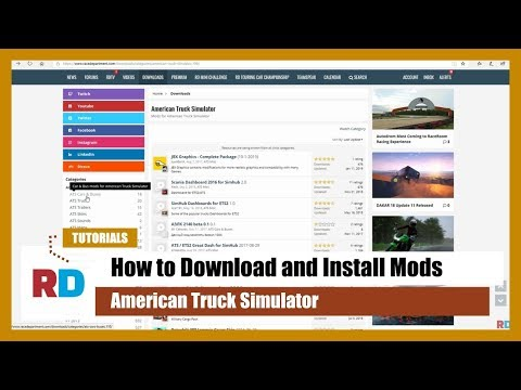 TUTORIAL: How To Install Mods In American Truck Simulator