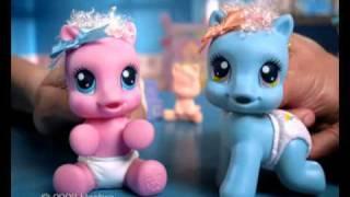 MLP Newborn - Новорожденные Малютки Пони.(Рекламный ролик компании HASBRO - Новорожденные Малютки Пони. Реклама 2009 год. Адаптация и озвучание -
