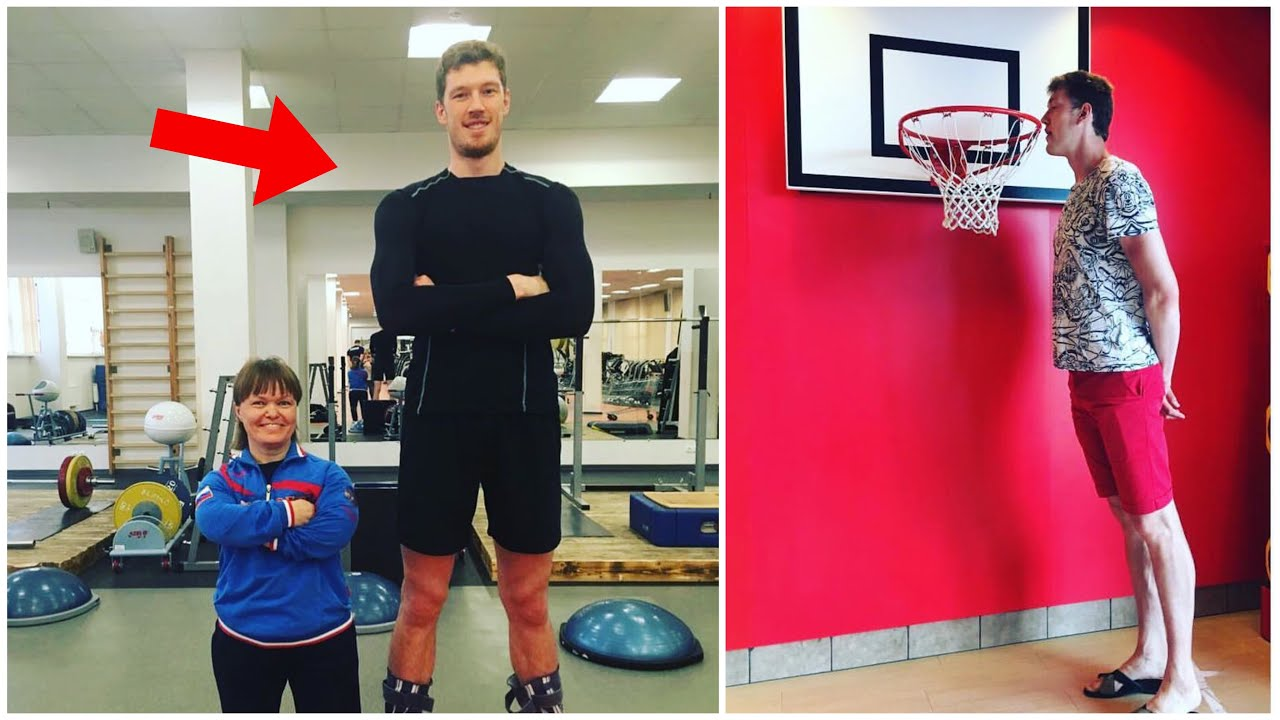 He is NOT HUMAN !!! 218cm Tall Volleyball Giant Dmitriy Muserskiy (HD)