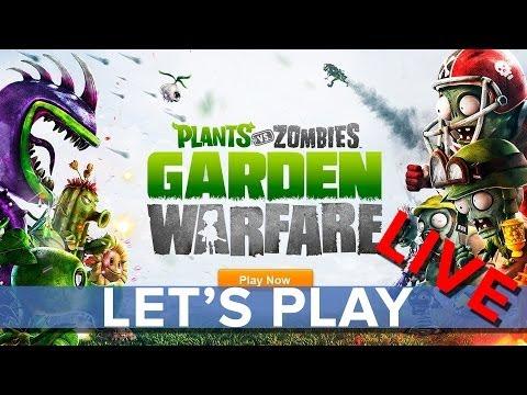 Plants Vs. Zombies Garden Warfare - Eurogamer Let's Play LIVE