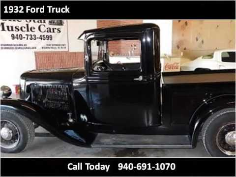 1932 ford truck used cars wichita falls tx youtube. Black Bedroom Furniture Sets. Home Design Ideas