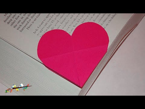 ♥ How to Origami | Heart Bookmark | Book Corner ♥