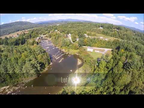 Waterfront Lots for Sale - Cadys Falls Development Aerial Video
