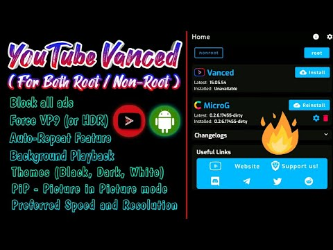 How To Install YouTube Vanced In Any Android Phone | YouTube Mod For Both Root / Non-Root (2020) 🔥