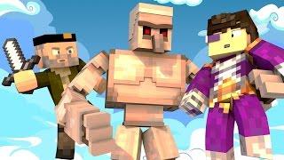 Minecraft | EL GOLEM AMOROSO !! c/ Vegetta | Minijuego BUILD BATTLE