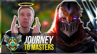 ZED GOD IS BACK? - Journey To Masters #18 - League of Legends