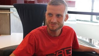 Davey Grant Discusses Death of Head Coach, UFC Hamburg Fight - MMA Fighting