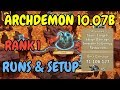 Archdemon l Rank 1 l Stuns Targets Huge Damage l 10.07B l Castle Clash