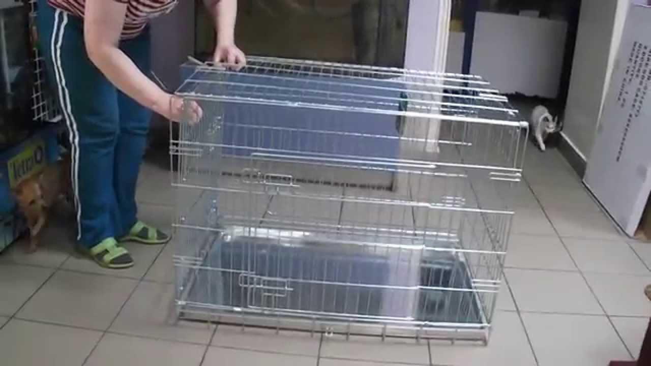Где купить клетку для собак и щенков в Москве - ЮниЗоо