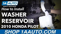 How to Replace Windshield Washer Fluid Reservoir 09-15 Honda Pilot